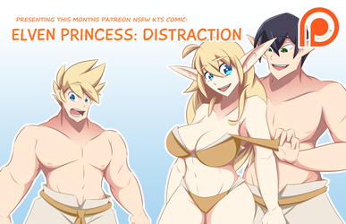 Elven Princess - Distraction Comic Promo by Obhan