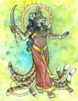 Durga by tyreenya