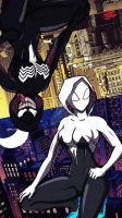 Spider-Gwen by The-JR