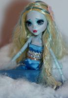 Little Mermaid OOAK doll by lulemee