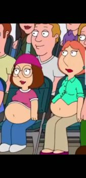 Family Guy, Meg and Lois gets pregnant  by ThatOneWanderer