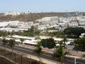 The View Of Peurto Rico, Gran Canaria by Werewolf316