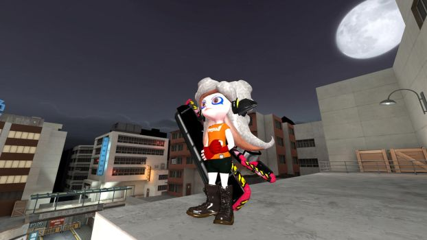 The legendary octoling by alex12357