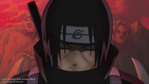 Itachi Blood Omen. by Cap-Bassam