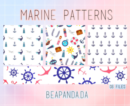 Patterns 004 // Marine by BEAPANDA