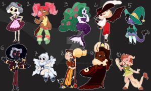Small Adopts Auction moved by Ghost-Pirate-Adopts