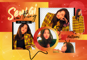 PNG PACK: Seulgi (Wow Thing) by Hallyumi