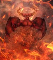 Ifrit (Islamic mythology) by Lothiel-14