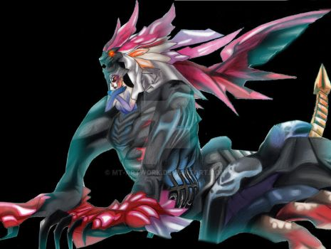 FF8 Griever / Ultimecia Fusion by MT-Artwork