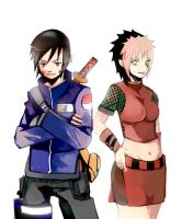 Gen and Michiko By Unhai by jasonniceboy