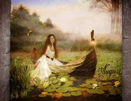 Aug_Lady of Shalott by CearaFinn
