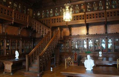 Gothic library 01 by ForestGirlStock