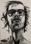 Chuck Close Portrait by artistickittn