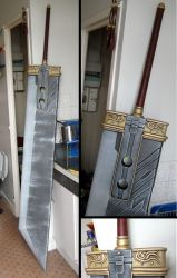 Zack's Buster Sword by InfectedGuili