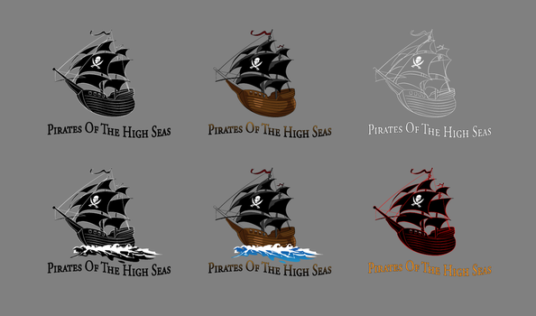 Logo Pire Of The High Seas by gusmedi