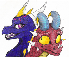 Dragon Buddies by Bordeaux42390
