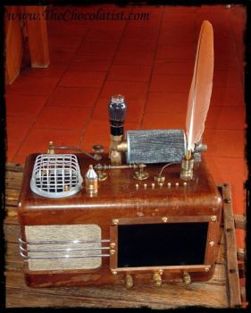 The TEATRUM MAGICUS - a Steampunk Mediaplayer by thechocolatist