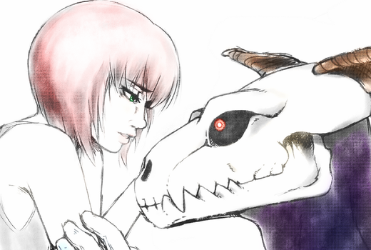 The Ancient Magus Bride - Chise and Elias by Kokoro-Tokoro
