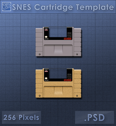SNES Cartridge Icon [Template] by VoidSentinel