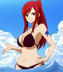 Erza Scarlet Thiccify by Thiccify