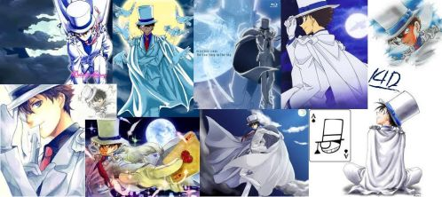 Collage Kaito KID 1412 by AmyRoseLove99
