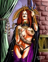 Sorceress by Cleavenger by THE-Darcsyde