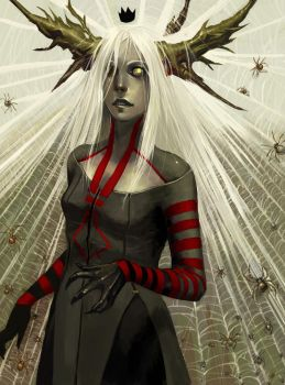 Spider Queen by Lizzy-John