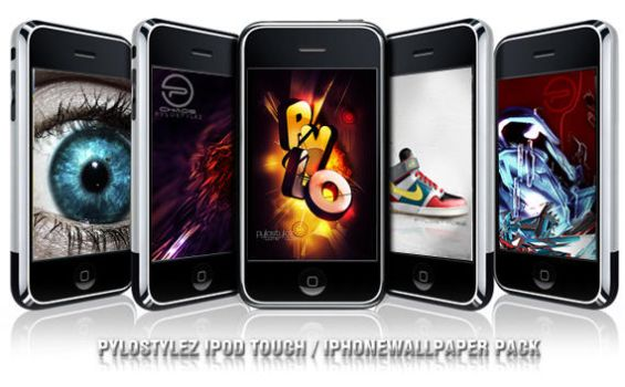 iPod iPhone Wallpaperpack by Pylostylez
