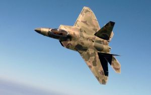 F 22 with my camo design by abaddon2004