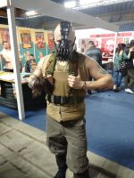 Bane (The Dark Knight Rises) - Mantova Comics 2013 by Groucho91