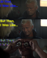 Roy Batty's Facial Expressions by Quadraxis14
