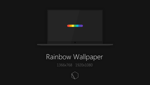 Rainbow Wallpaper by TheButterCat