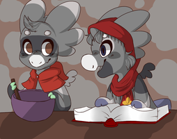 Baking with Mell by Taeqii