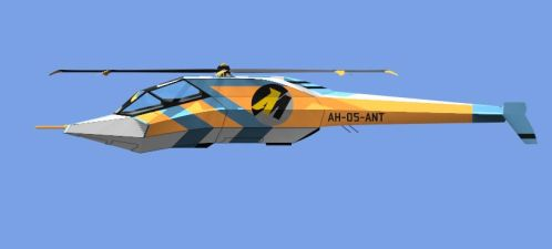 Stealthy Helicopter Reskin by illuminatus-shadow