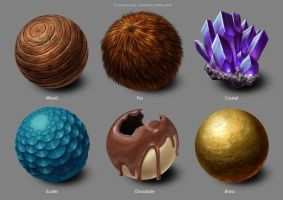 CG201 - Material study by JemiDove