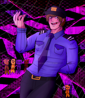 FNAF Purple Guy- Nobody Will Know by putt125