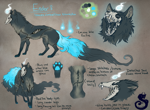 Ender Reference by animalartist16