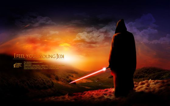 I feel you... young Jedi WP by Osokin