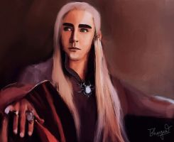 King Thranduil by Bhargav08