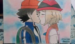 Ash x Serena (Amourshipping) by GABOaNiMaTeD1998