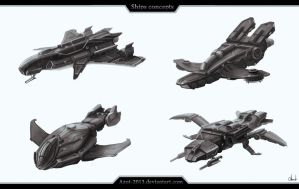 Ships concepts by Azot2017
