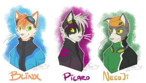 Time Sweepers: Blinx, Picaro, and NecoJi by Noxivaga