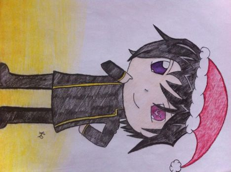 Merry Christmas, Lelouch by ilubyew