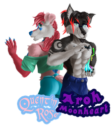 ID - Aroh and Quentin by Aroh96