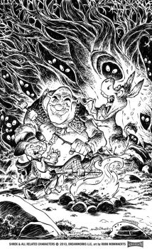 Shrek Comic Issue 2 Cover by RobbVision