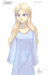 Nightgown Zelda by lord-phillock