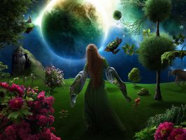 Mother Nature's Garden by jesus-at-art