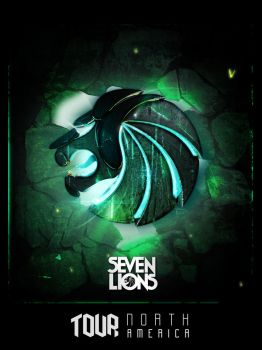 Seven Lions North America Tour Poster by kampollo