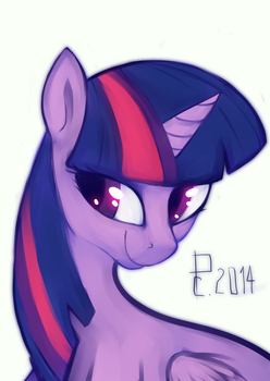 Twilight Sparkle by RISTERDUS