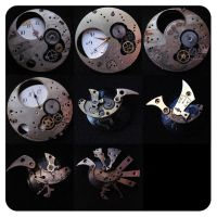 steampunk brooches 2 by cattislearningtofly